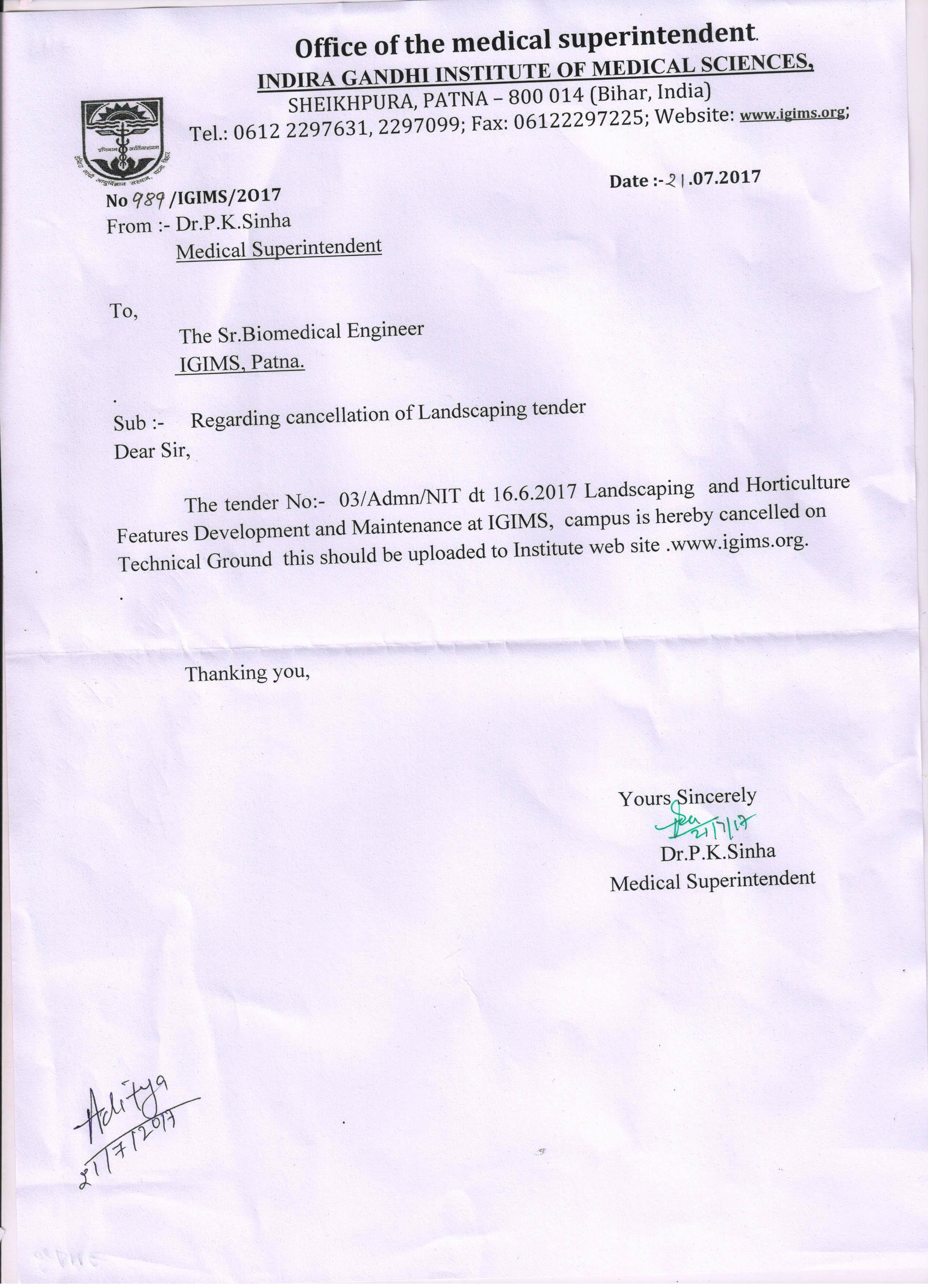 Indira Gandhi Institute Of Medical Science